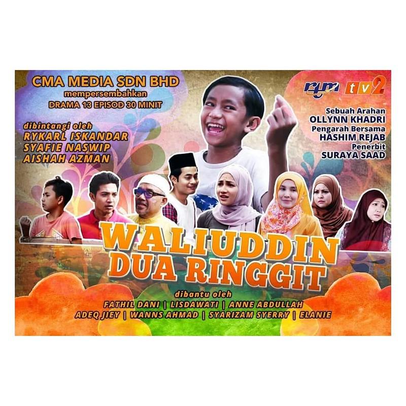 Poster Telemovie Waliuddin Dua Ringgit