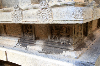 Various lingams around Amman shrine (2)