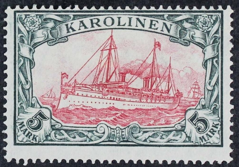 Caroline Islands - Scott #23 (1915)