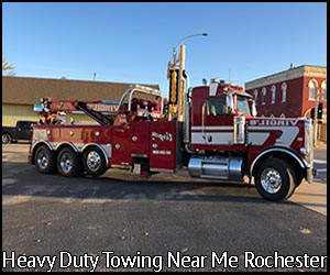 Heavy Duty Towing Near Me Rochester | Virgil's Auto Repair and Towing