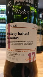 SMWS 135.13 - Buttery baked bananas