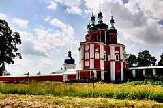 Saints Peter and Paul Church. (1693-1708). Gustynya. Chernihiv region, Ukraine.