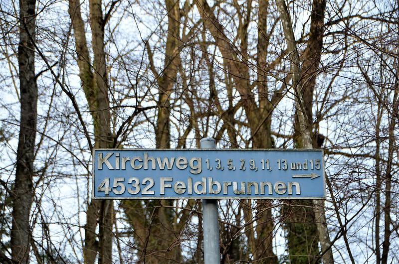 Signpost Feldbrunnen 04.01.2019