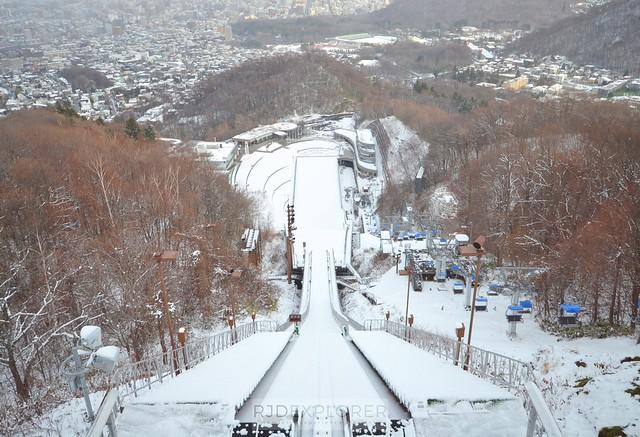 hokkaido itinerary Okurayama Ski Jump Stadium of 1972 Winter Olympics