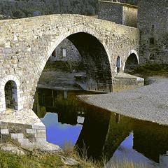 Pont de l'Abbaye, Lagrasse (Aude)