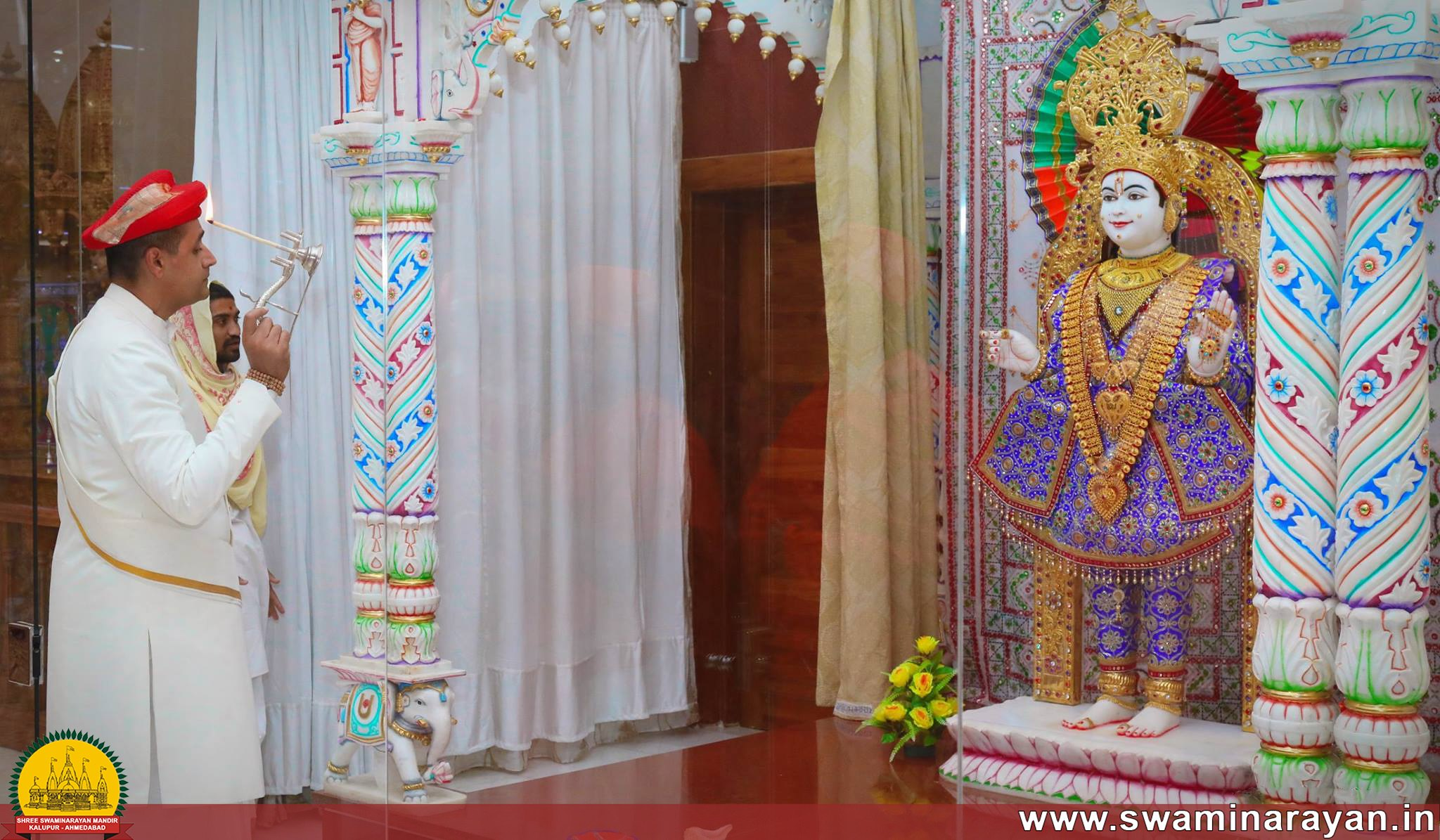 Maharajshree Visit - Langata Mandir