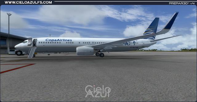 Copa Airlines (HP-9901CMP & HP-9902CMP) v1.0