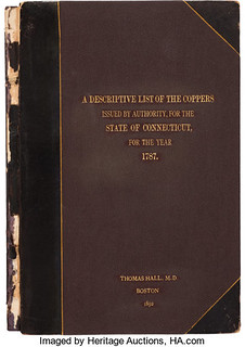 Hall's List of the Connecticut Coppers