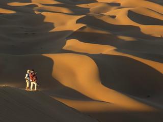 Dunes of Erg Ez-Zahar, Morocco