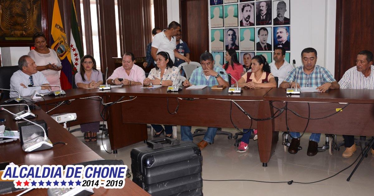Chone inicia proceso de implementación de uso y gestión del suelo