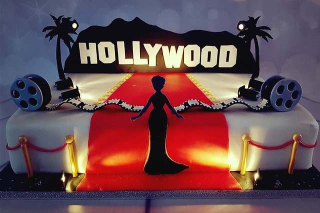 Hollywood Cake by KatieCakes