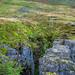 Buttertubs limestone potholes @ Buttertubs Pass - Muker, North Yorkshire, England, UK
