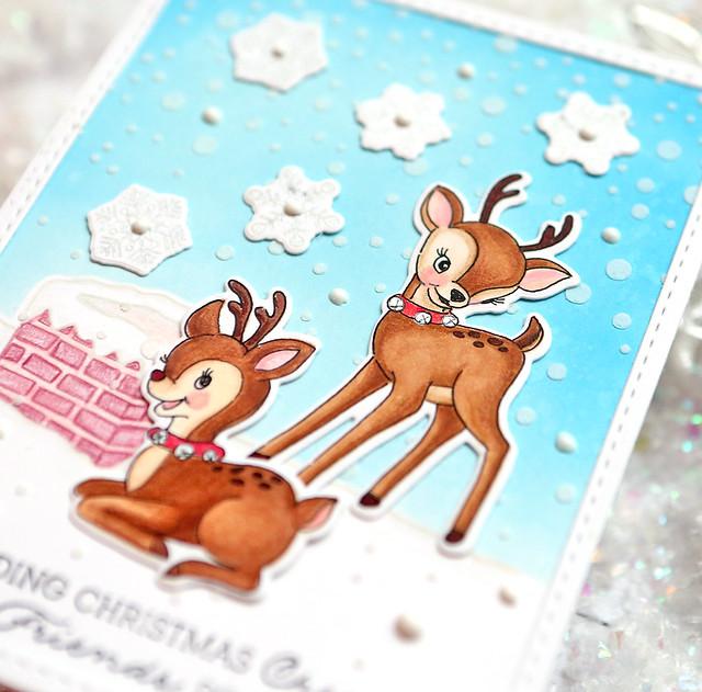 sending christmas cheer close up 2