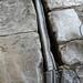 Extant Roman lead pipe