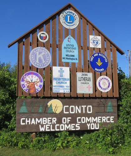 Oconto Welcome Sign (Oconto, Wisconsin)