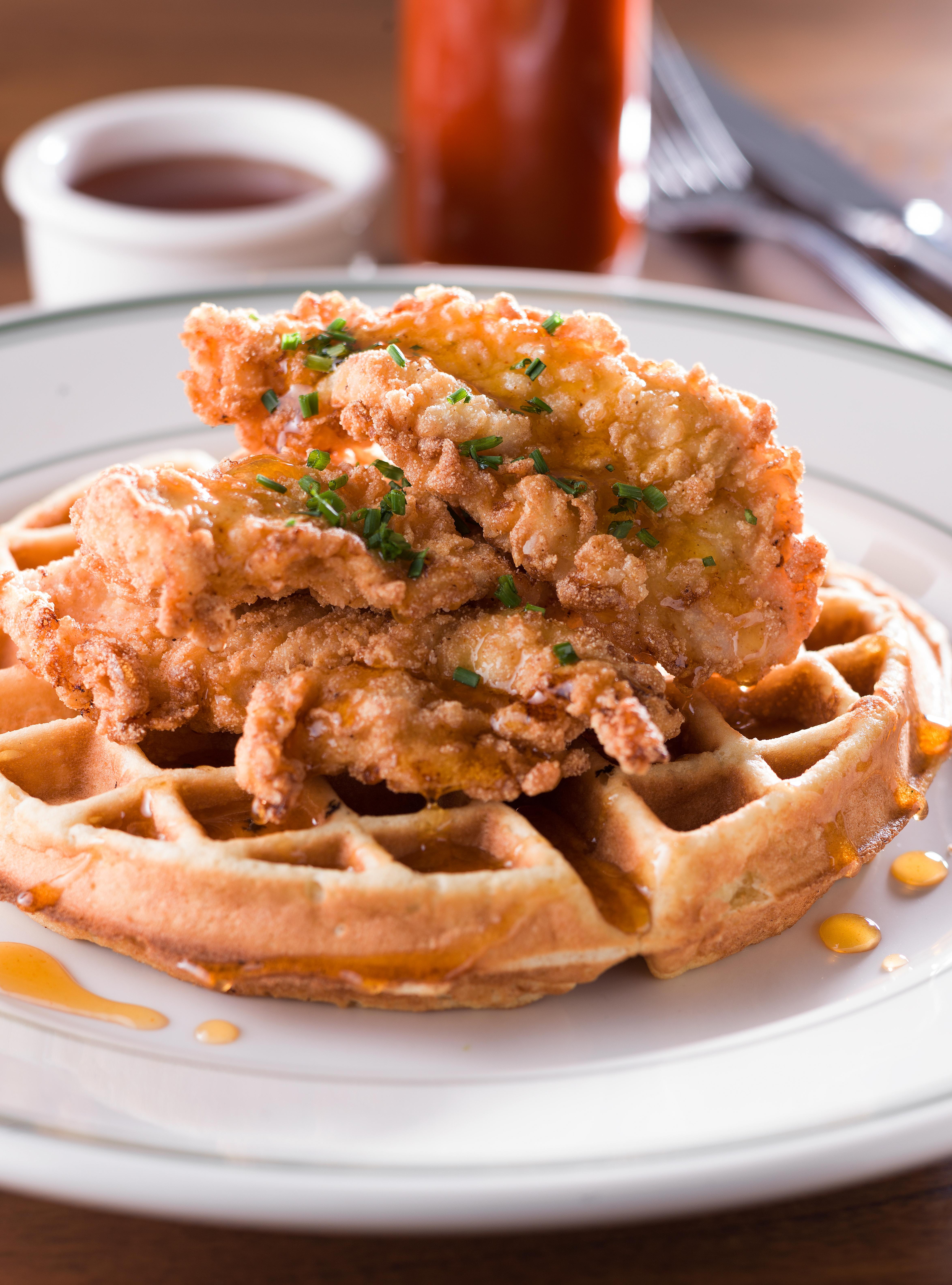 Fried Chicken & Waffles (1)