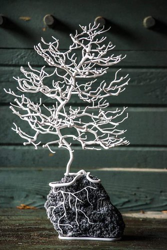 Tree sculpture. From Featured Artists Czech This Out with Petra and David Bachron