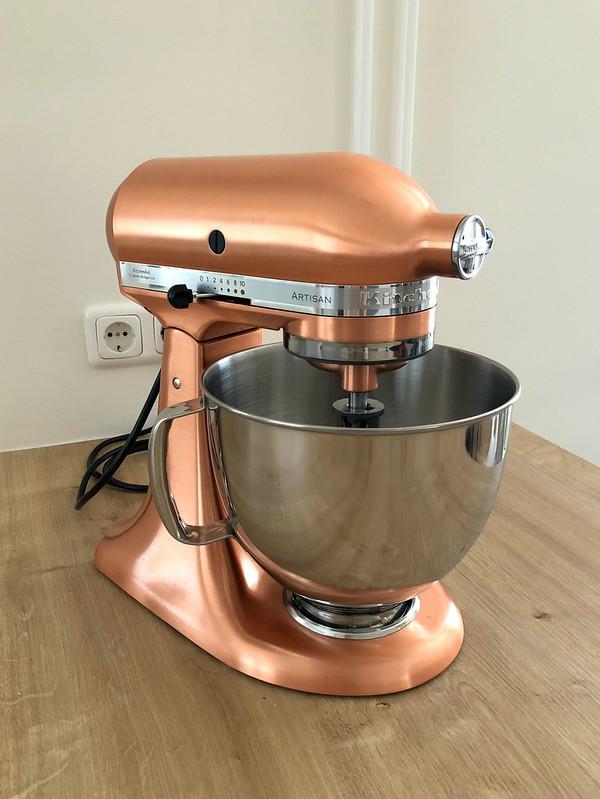 Copper Kitchenaid Mixer
