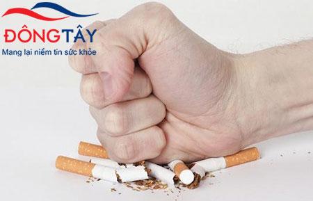 Thuốc lá không tốt cho người bệnh suy tim