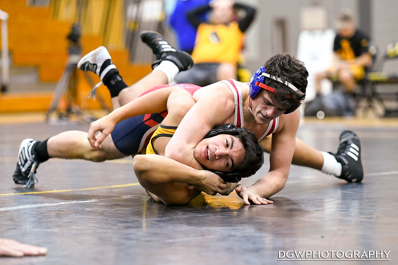Foran High vs. Jonathan Law - High School Wrestling