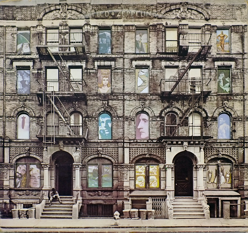 "LED ZEPPELIN Physical Graffiti DOUBLE 12"" LP ALBUM VINYL"