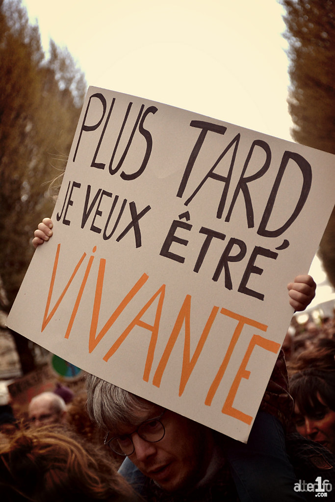 [16 Mars 2019] – Un jour, une photo : Nouvelle marche pour le climat...