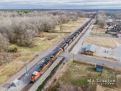 BNSF 8461 | EMD SD70ACe | NS Memphis District West End