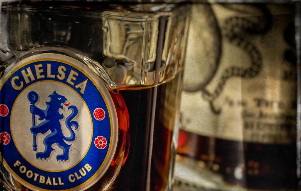 Chelsea FC and Kraken black rum
