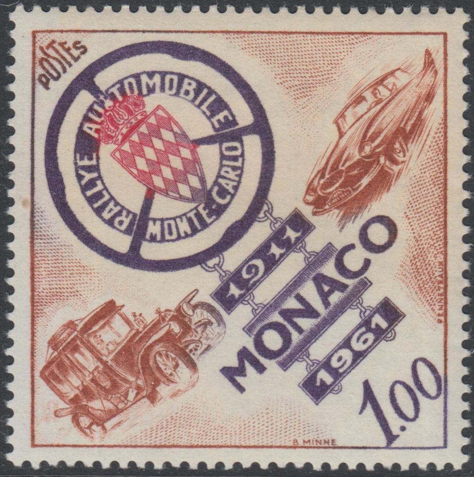 Monaco - Scott #484 (1961)