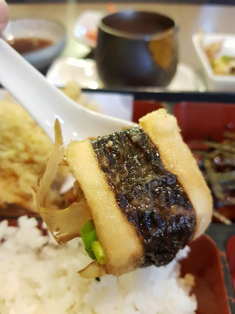 鳗鱼烧 天妇罗 弁当 Unagi Tempura Bento rm$38 @ 香リ Kaori at PJ Phileo Damansara