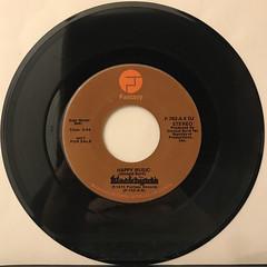 BLACKBYRDS:HAPPY MUSIC(RECORD SIDE-A)
