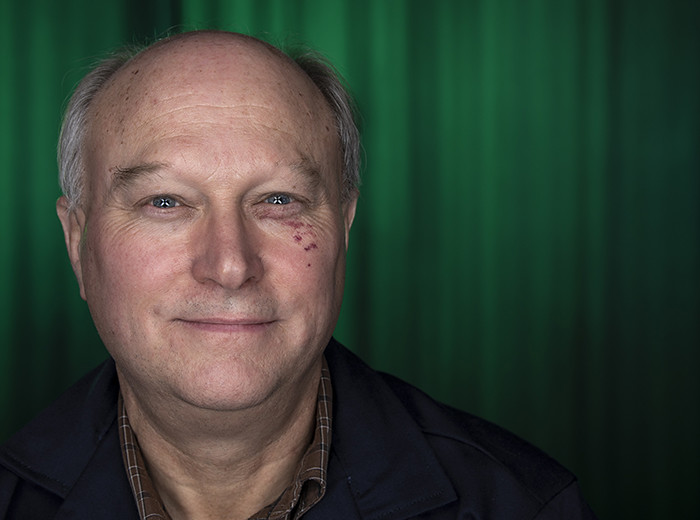 Portrait photo of a man.