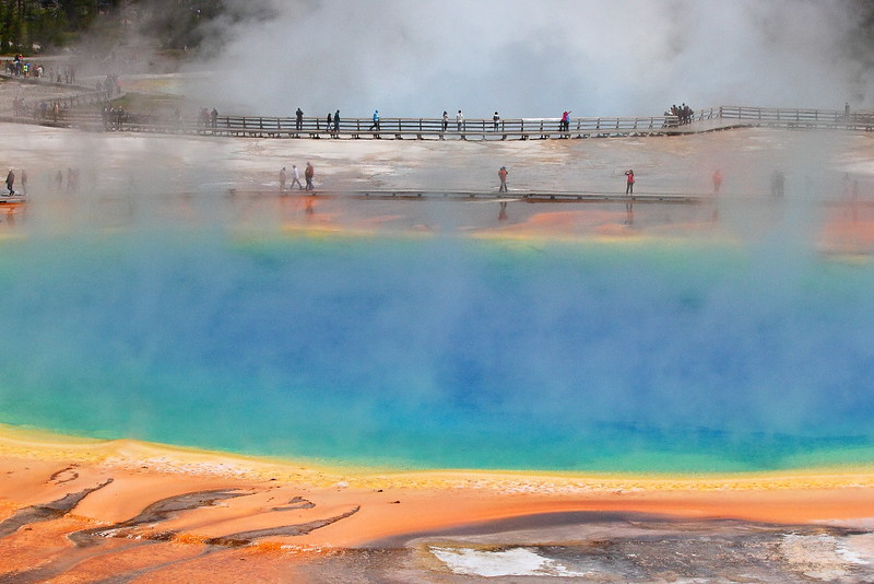 IMG_8032 Grand Prismatic Spring, Yellowstone National Park