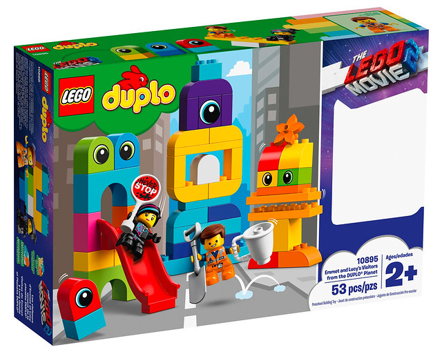 LEGO Movie 2 10895 Emmet and Lucy's Visitors from the DUPLO Planet 1