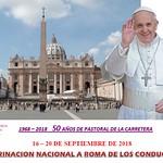 16.9.18 Pastoral del Tráfico. Peregrinación a Roma.