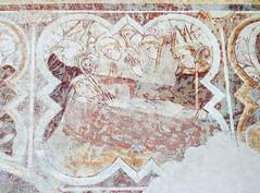 saint-méen-le-grand, fresques de l'église abbatiale - Photo of Gaël