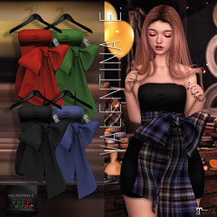 NEW!  Valentina E. It's A Wrap Dress @ Christmas Around The World!