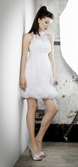 Peinados desenfadados para vestidos de novia Cortos (14)