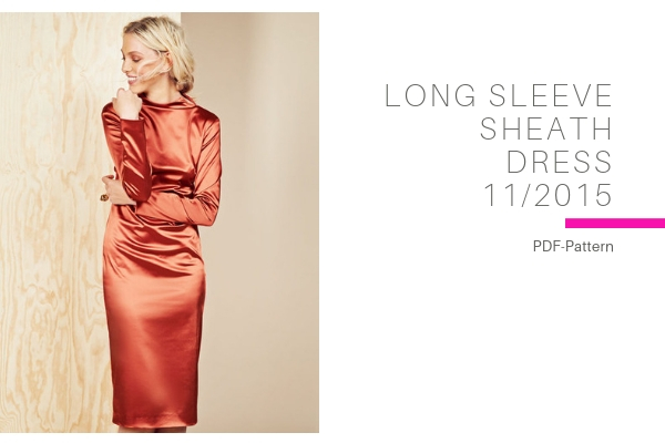 Long Sleeve Sheath Dress