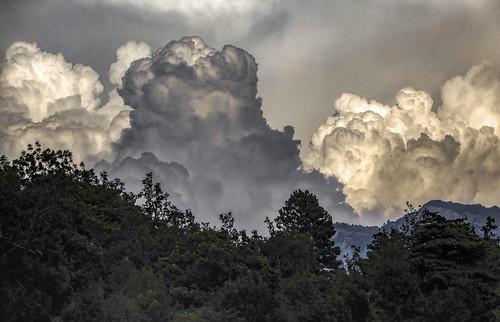 France - intertesting sky