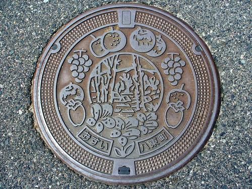 Hatto Tottori, manhole cover (鳥取県八東町のマンホール)