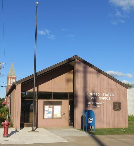 Post Office 54480 (Stetsonville, Wisconsin)