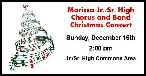 Marissa Band Concert  12-16-18