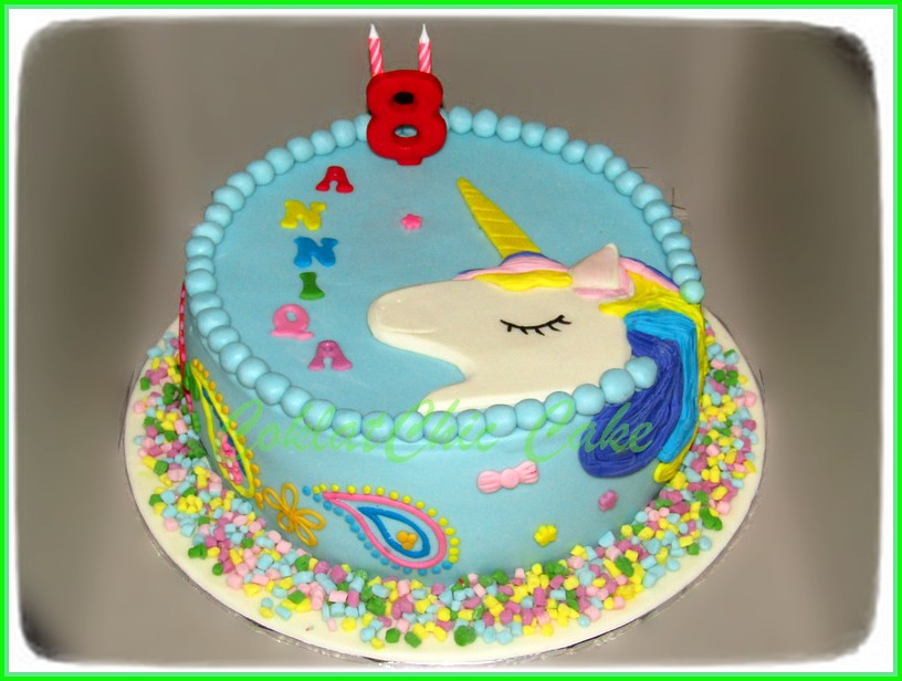 Cake Unicorn ANNIQA 20 cm