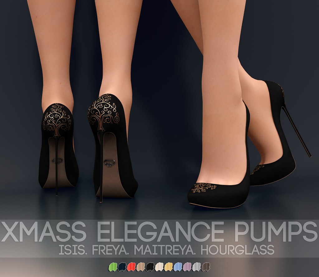 Pure Poison – Xmas Elegance Pumps – AD