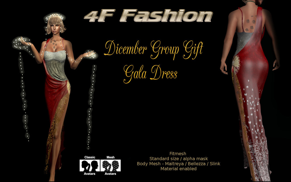 4F Fashion group gift Dicember - TeleportHub.com Live!