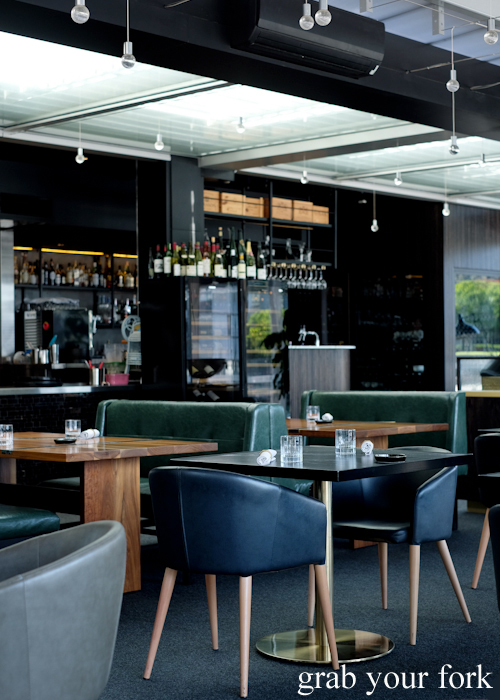 Dining room at LuMi restaurant in Pyrmont Sydney