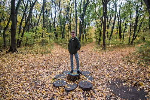 autumn poltava ukraine travel nature person family forest zimins boy people