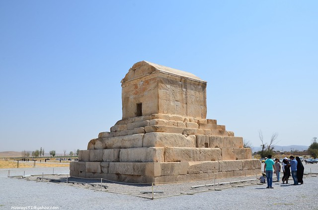 Tomb of Cyrus The Great in Pasargadae,IRAN
