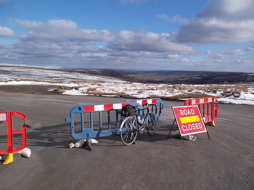 Rosedale Abbey road closed